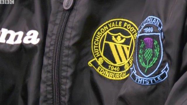 Lothian Thistle Hutchison Vale badge