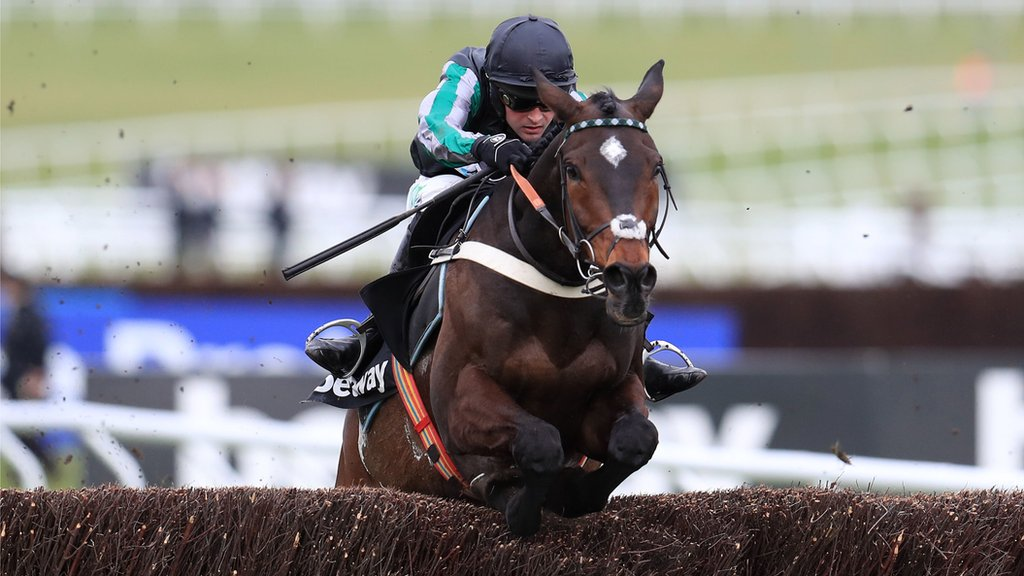 Clarence House Chase: Altior maintains unbeaten record with 17th win