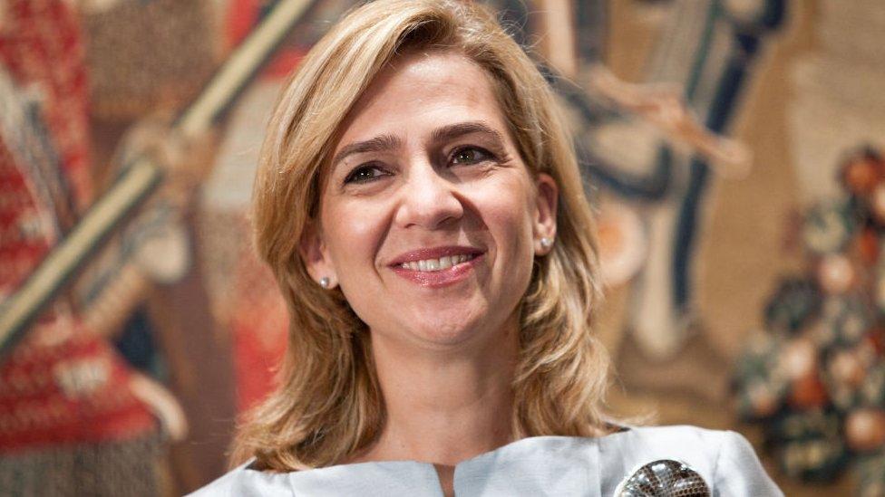 Infanta Cristina de Borbón.