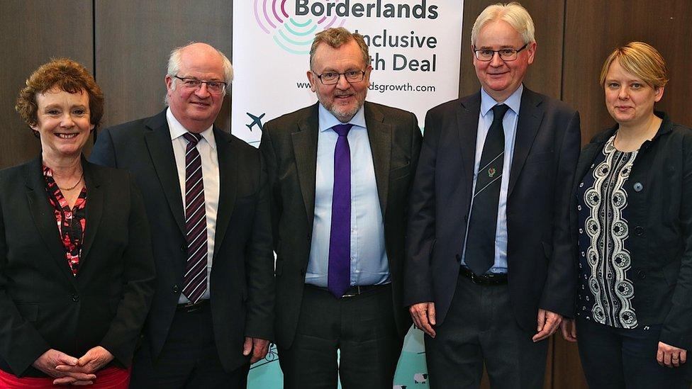 Borderlands meeting