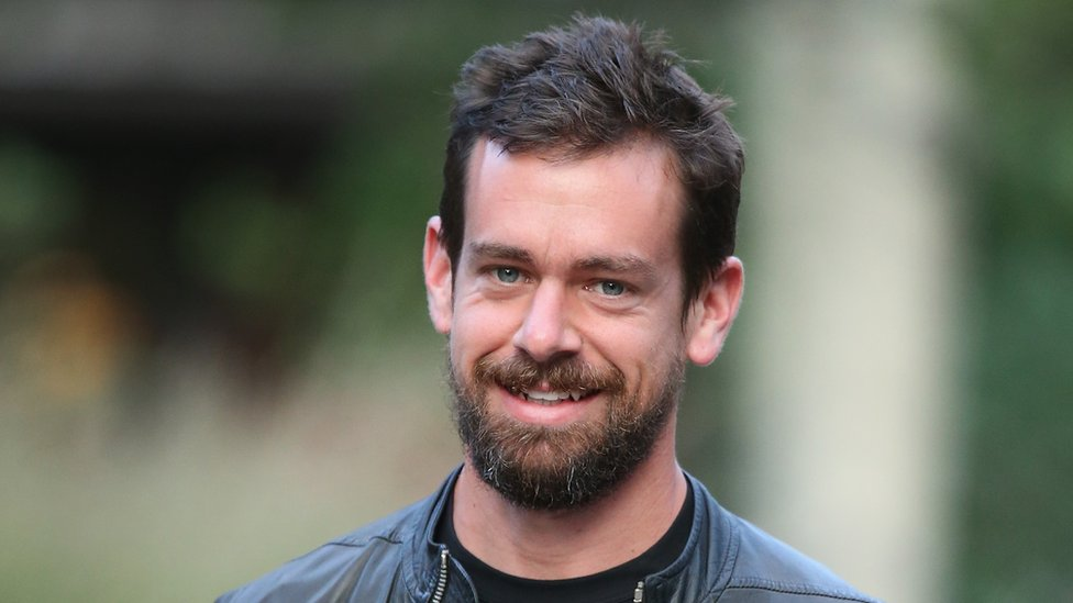Dorsey, aged 38, is a billionaire and now chief executive of two companies