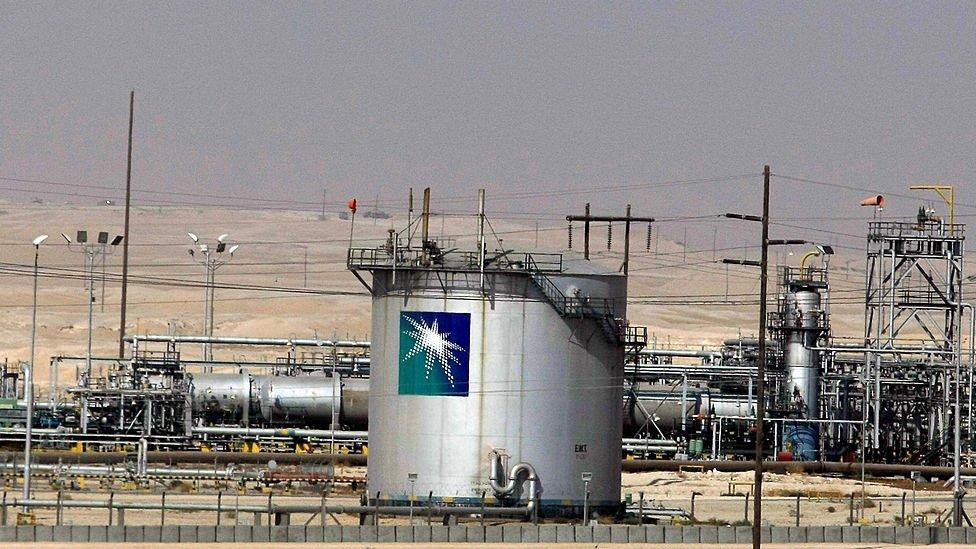 منشأة أرامكو السعودية النفطية في مدينة الدمام، شرق العاصمة الرياض، 23 نوفمبر/تشرين الثاني 2007