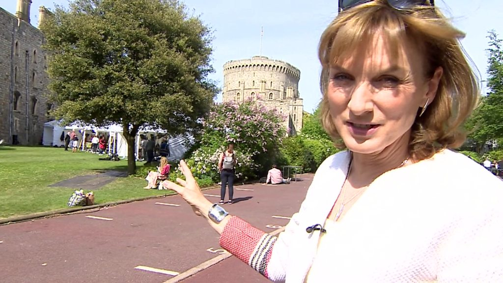 Royal wedding 2018: Fiona Bruce explores Castle Hill