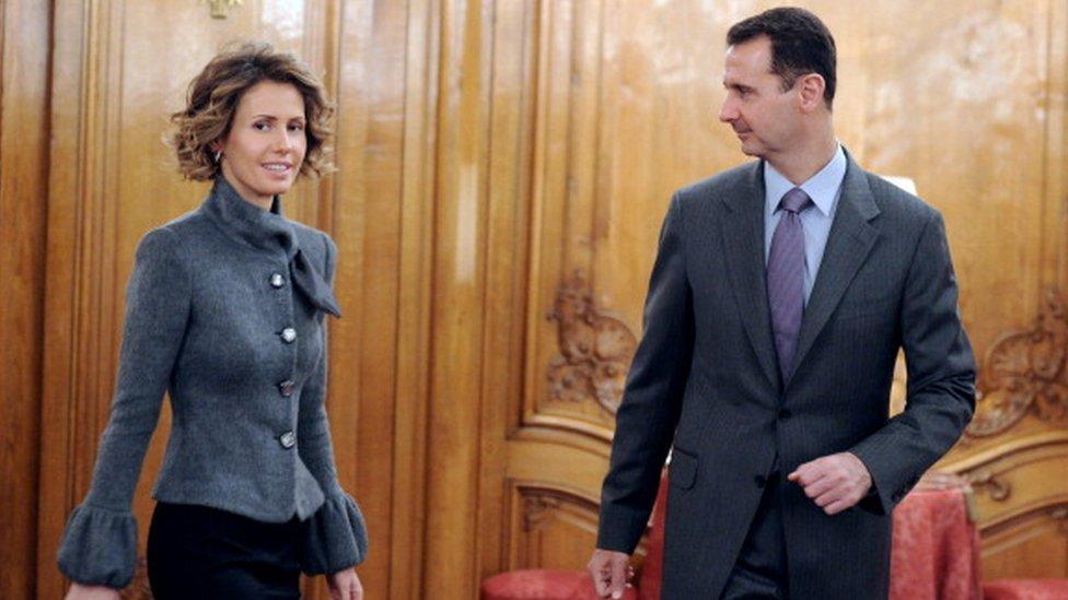 Esma Esad ve Beşar Esad