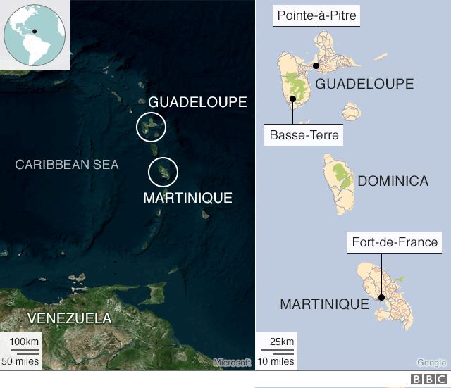 Antilles map