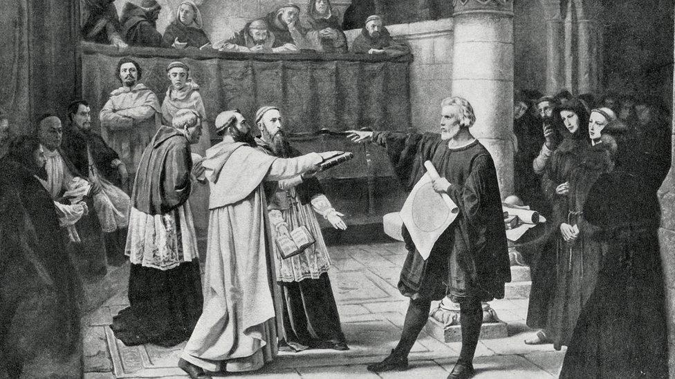 Galileo ante la Inquisición