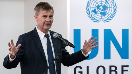 UN environment chief Erik Solheim quits amid expenses row