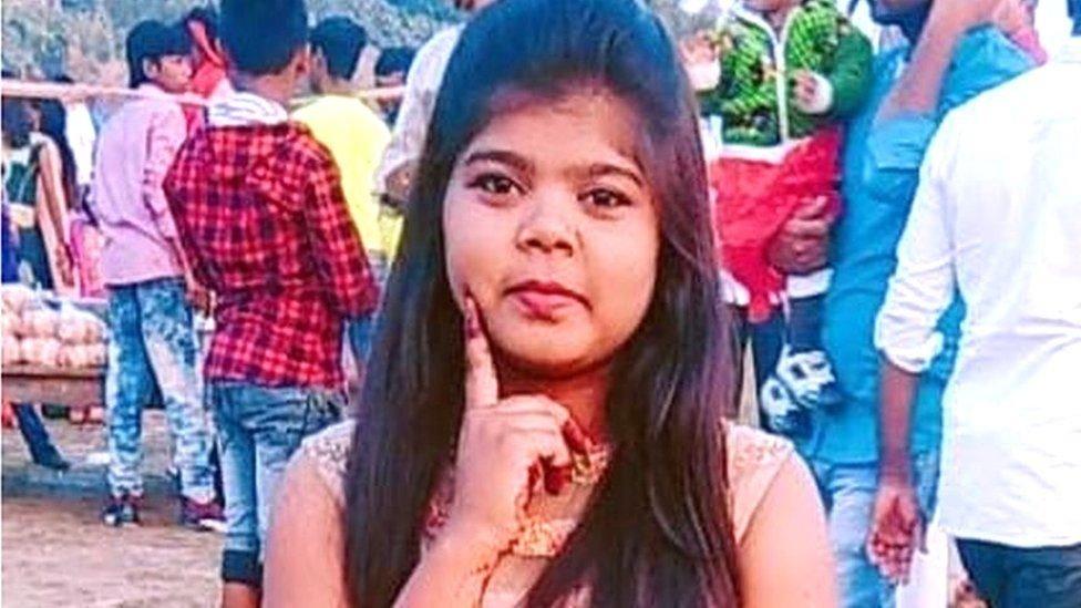 Neha Paswan, joven de 17 años asesinada por sus familiares en India