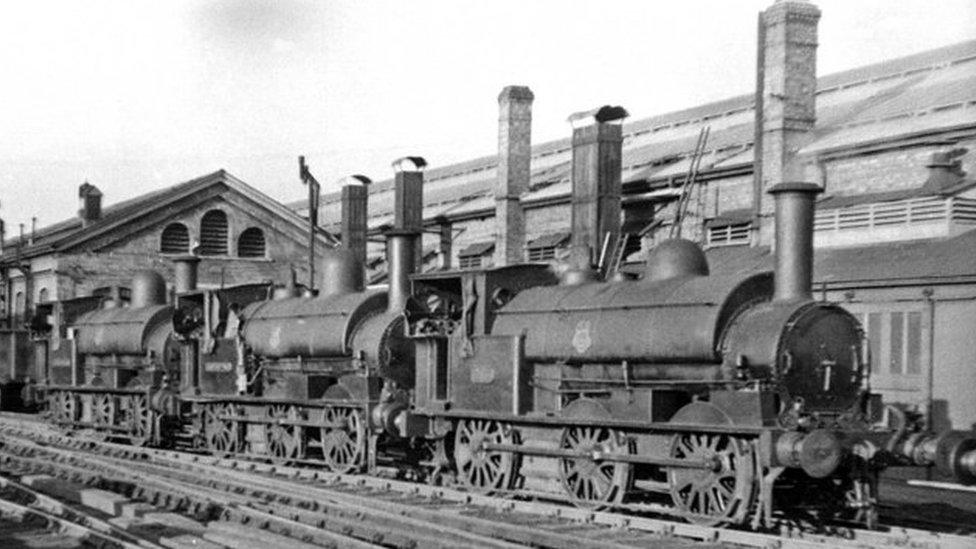 Wolverton railway works
