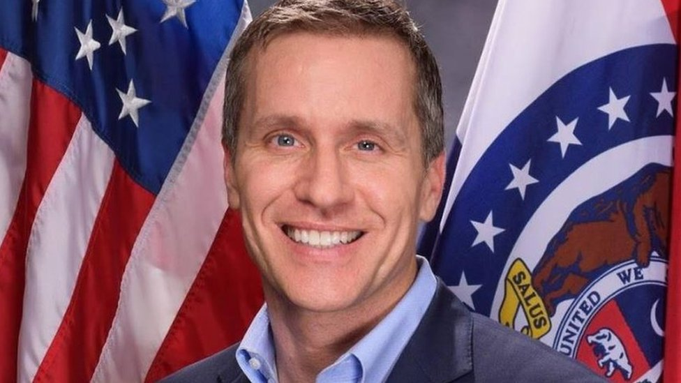 Missouri governor charged with felony computer data