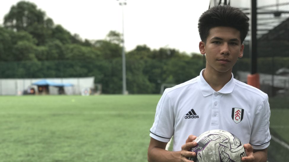Fulham teenager told he must do national service in Singapore