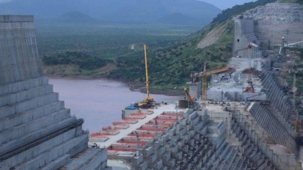 يهدف مشروع سد النهضة إلى أن يصبح أكبر محطة للطاقة الكهرومائية في أفريقيا