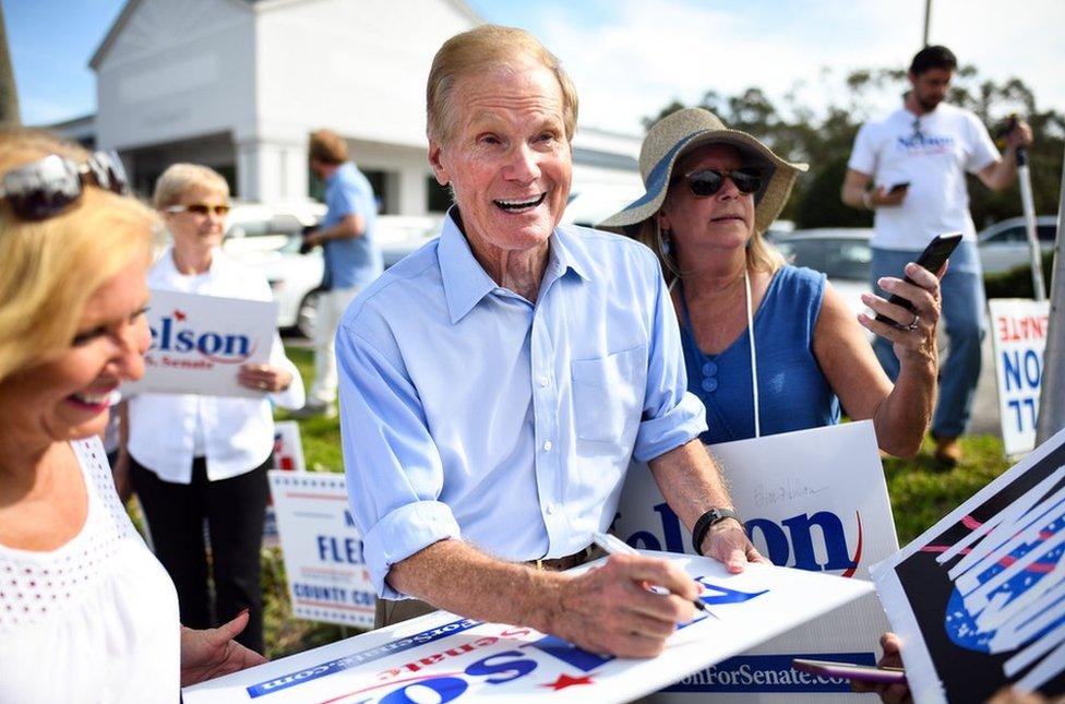 Bill Nelson en 2018