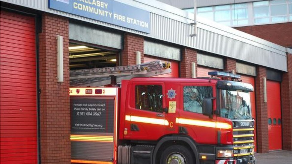 Liverpool city centre and Wallasey fire stations to shut overnight