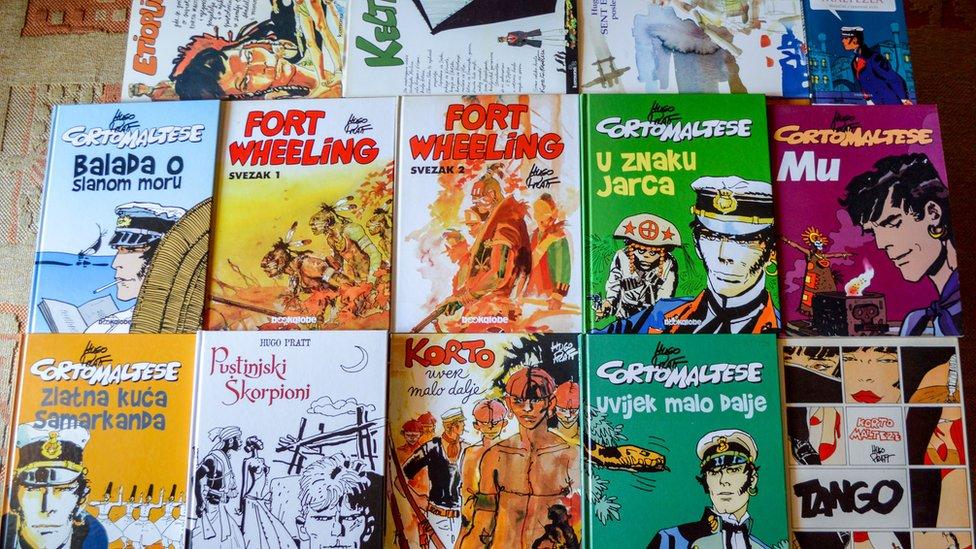 Korto Malteze je najpoznatija zbirka stripova Huga Prata