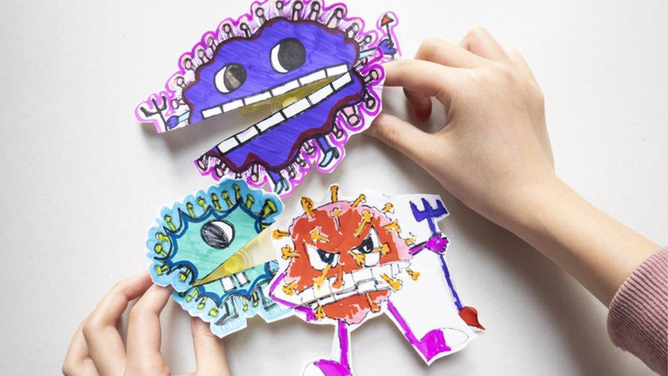 Desenho do coronavírus