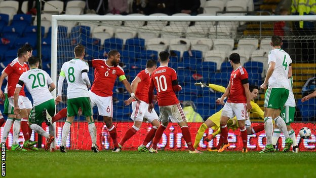 Northern Ireland draw in Wales