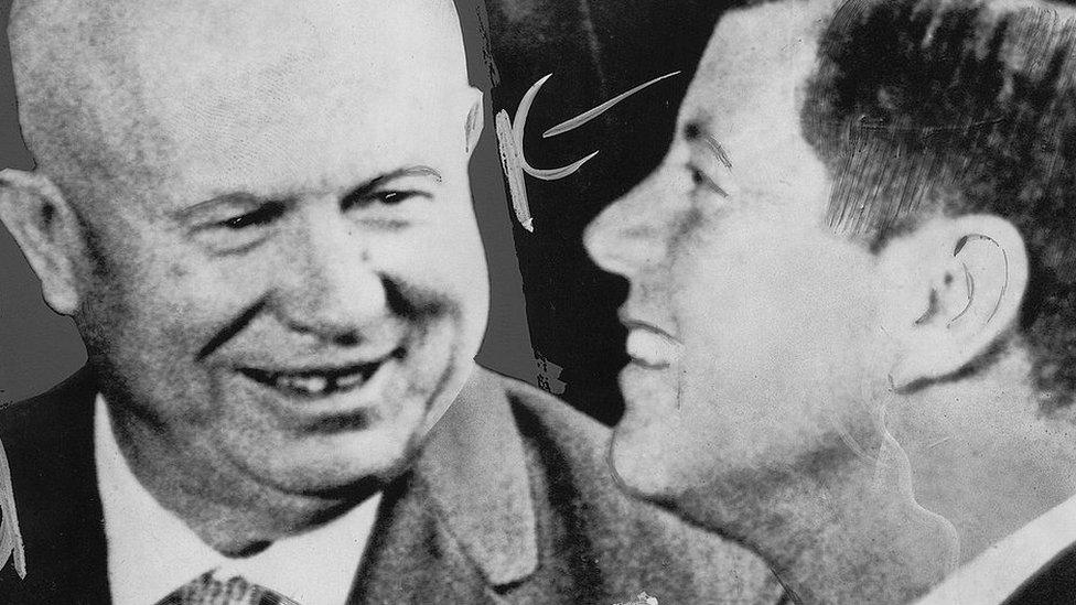 Khrushchev y Kennedy
