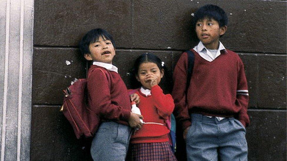 Еквадорські школярі