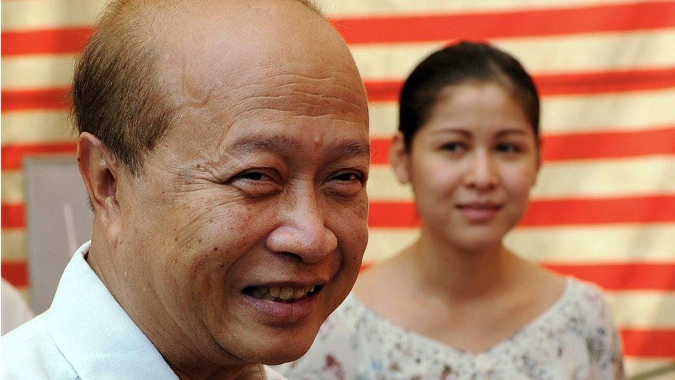 Дружина принца Камбоджі загинула в автокатастрофі