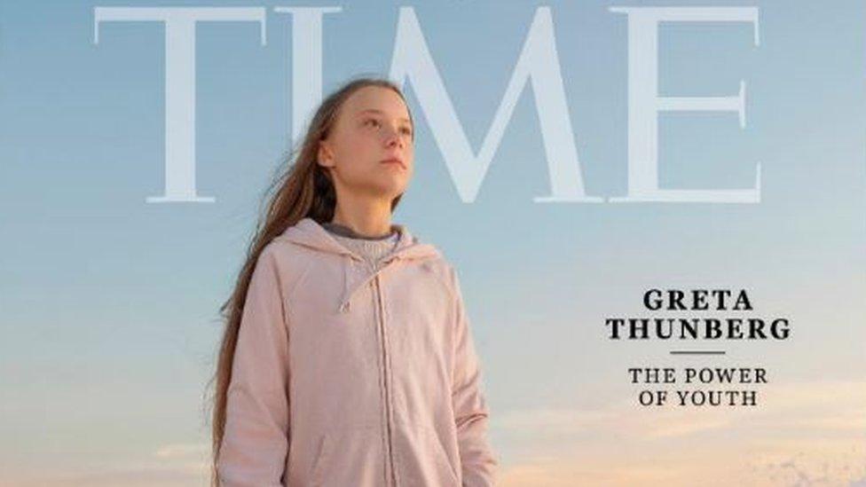 Грета Тунберг - человек года по версии Time