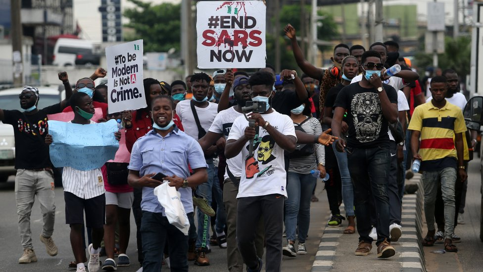 End Sars: How Nigeria's anti-police brutality protests went global thumbnail