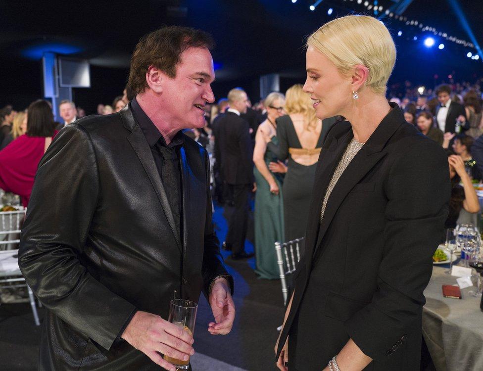 Kventin Tarantino i Šarliz Teron