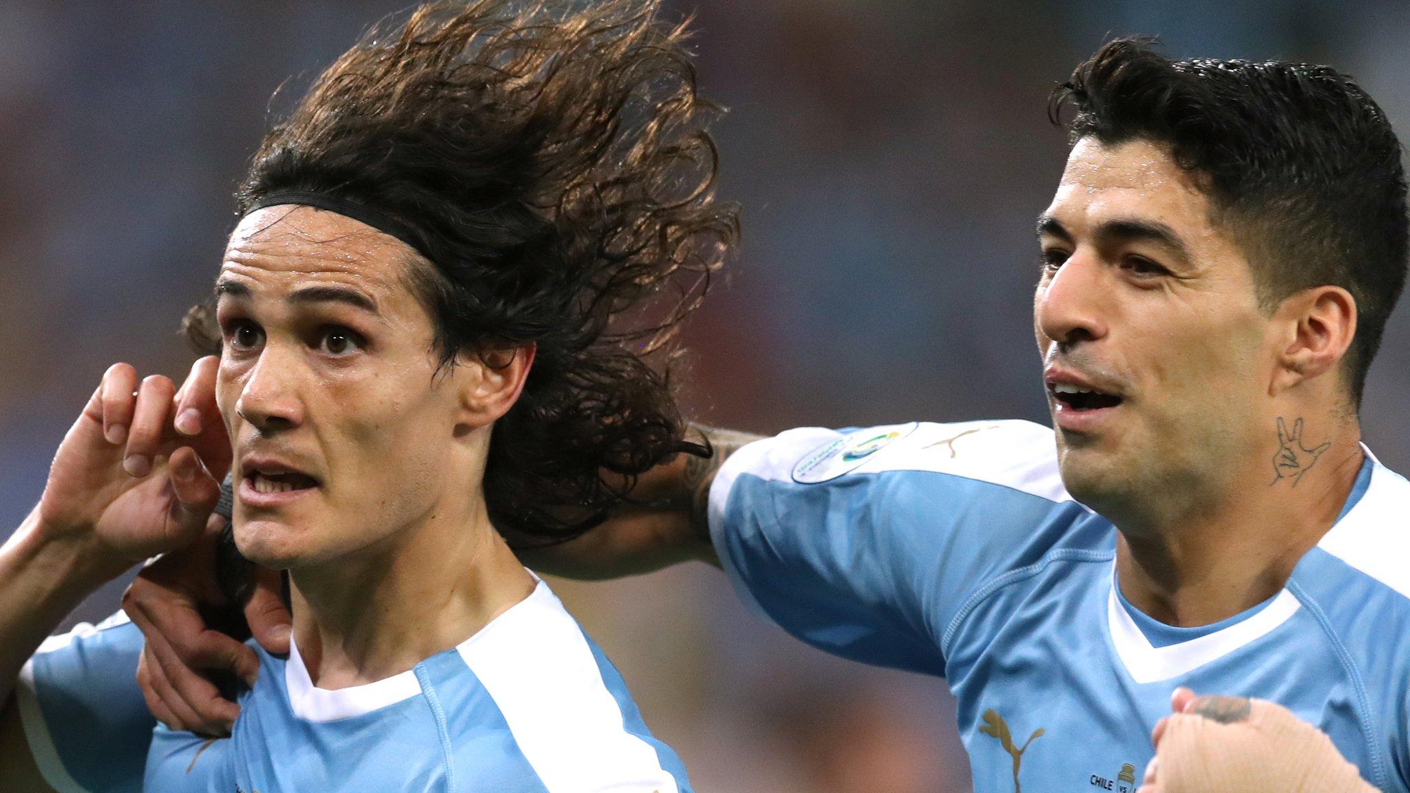 Chile 0-1 Uruguay