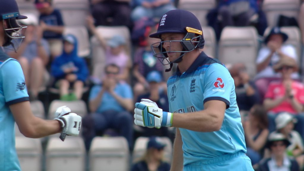 Watch: Big-hitting Buttler smashes five boundaries in an over