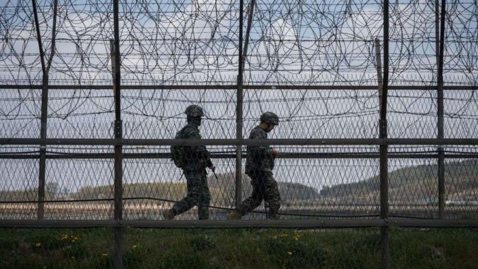 المنطقة منزوعة السلاح بين الكوريتين