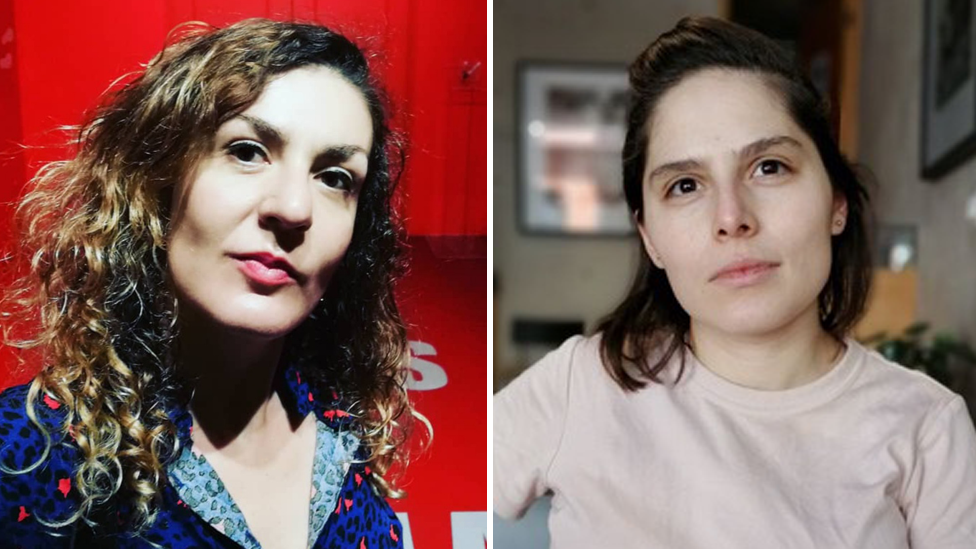 Claudia de la Garza y Eréndira Derbez
