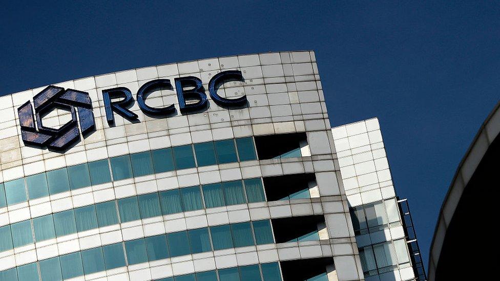 Sede del banco RCBC de Manila.