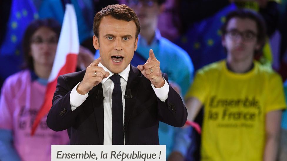 Macron campaign speech, 1 May 17
