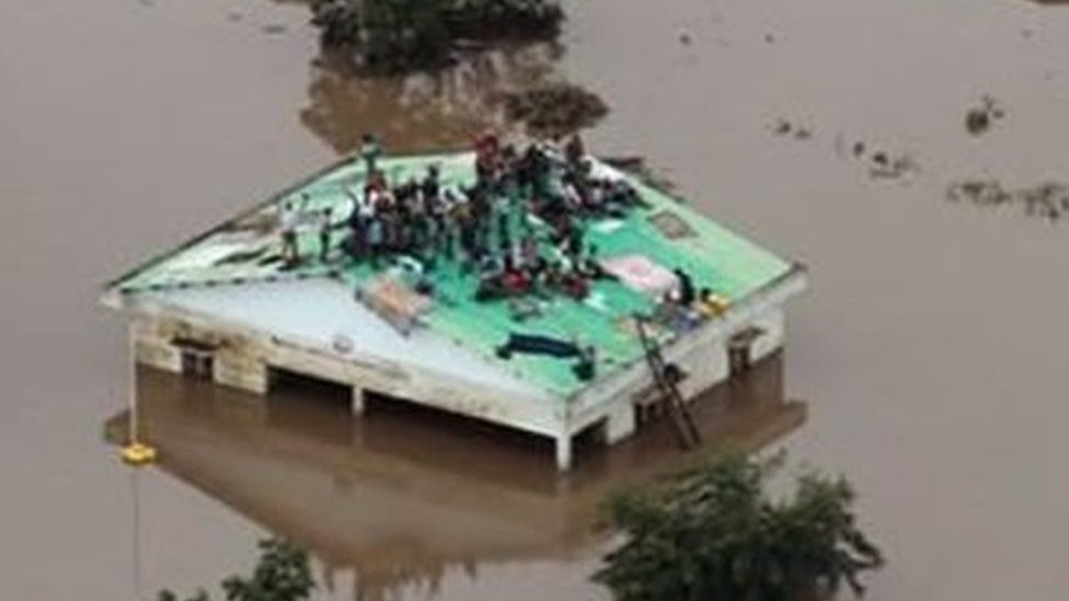 द.अफ़्रीकी देशों में अदाई तूफ़ान से 1000 के मरने की आशंका