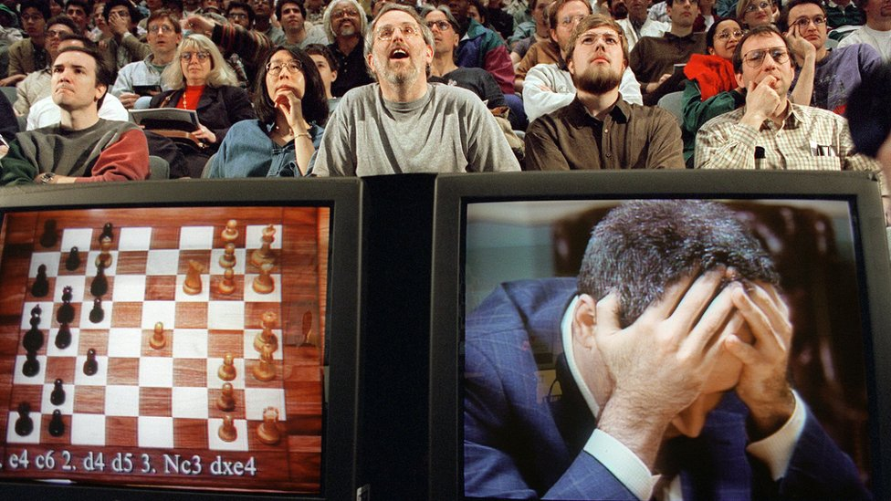 Garry Kasparov v Deep Blue, 1997