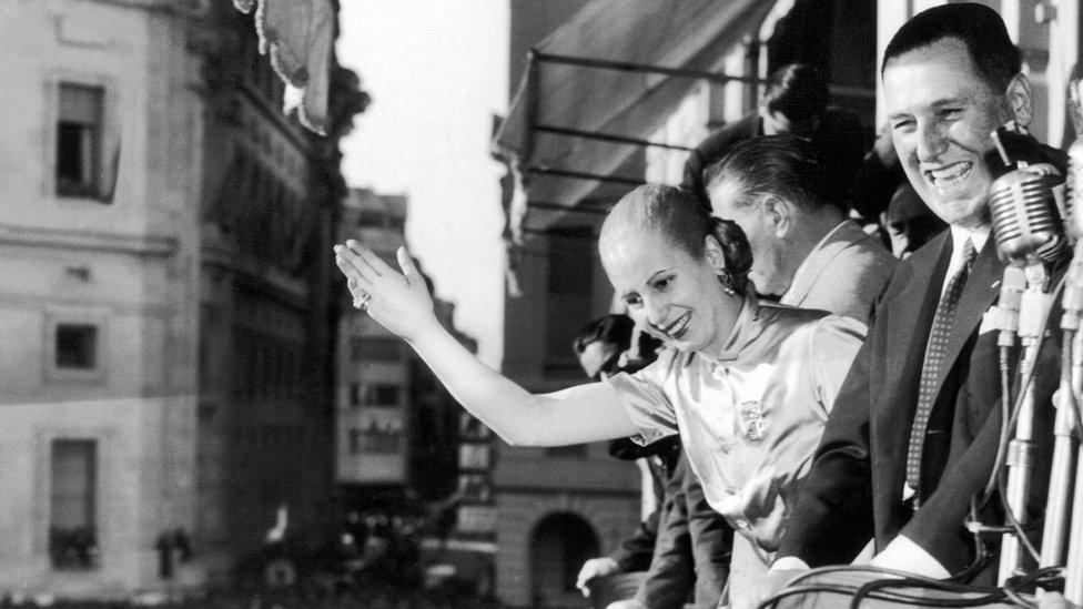 Evita y Peron