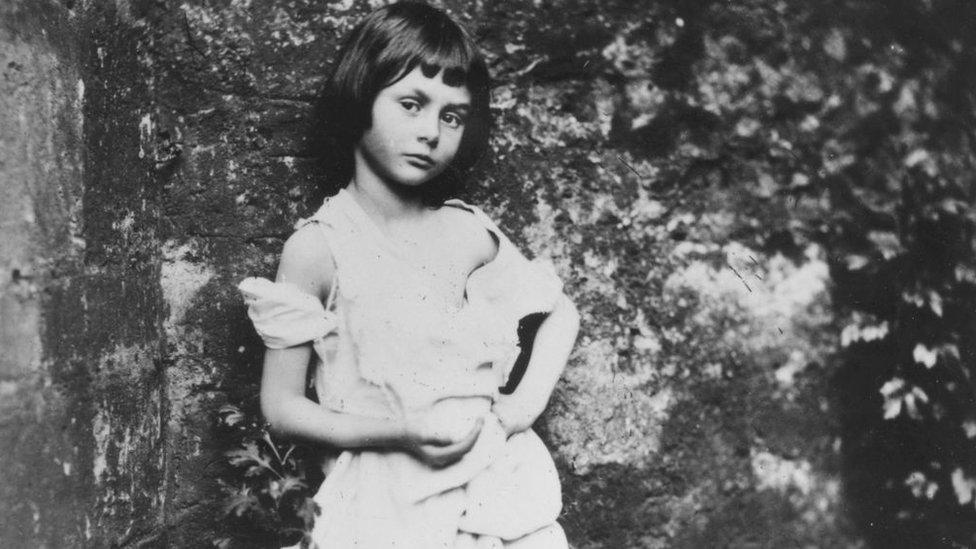 Alice Liddell.
