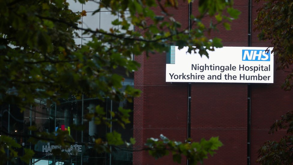 The NHS Nightingale Yorkshire and the Humber Hospital