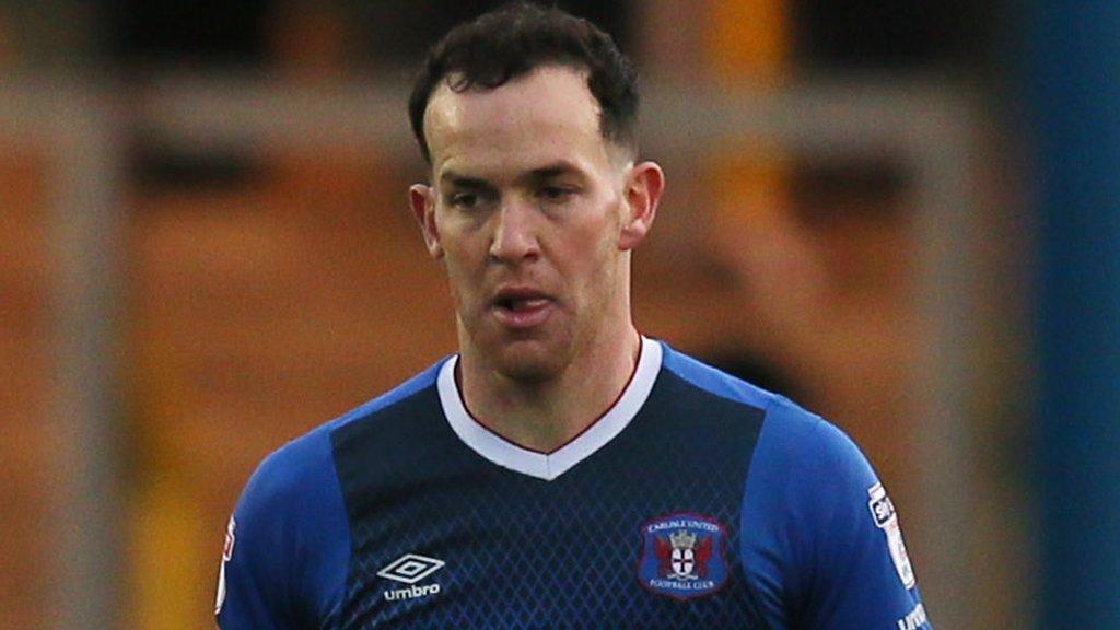 Luke Joyce: Port Vale sign Carlisle United midfielder and Brendon Daniels