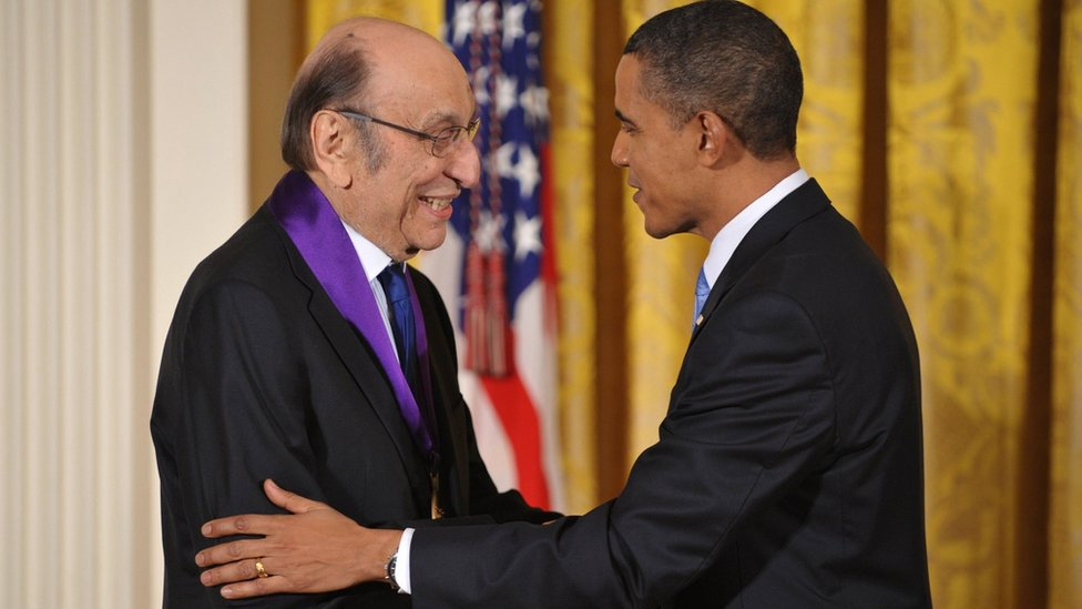 Milton Glazer i Barak Obama