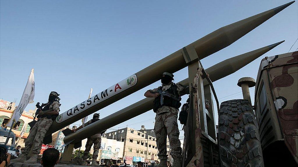 Арсенал палестинцев: чем ХАМАС обстреливает израильские города
