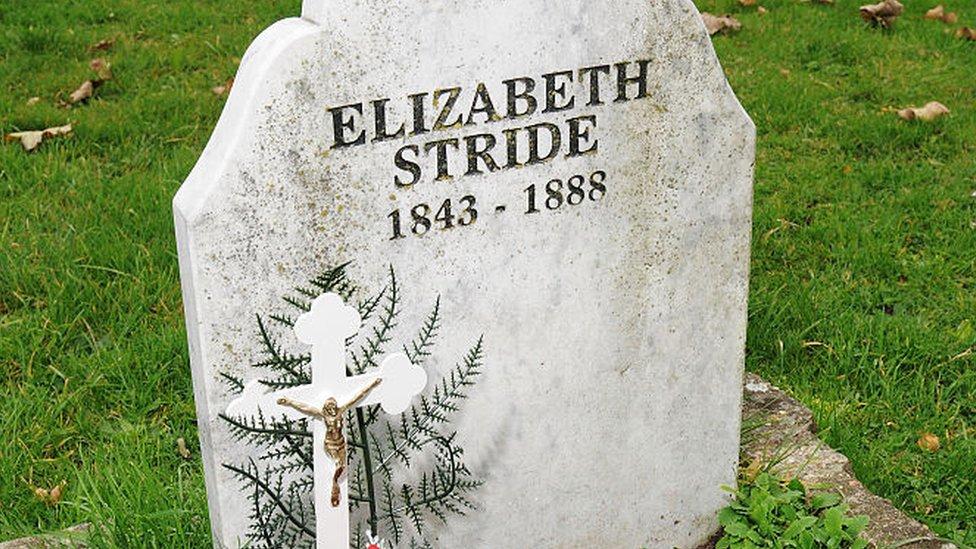 La tumba de Elizabeth Stride, 2008