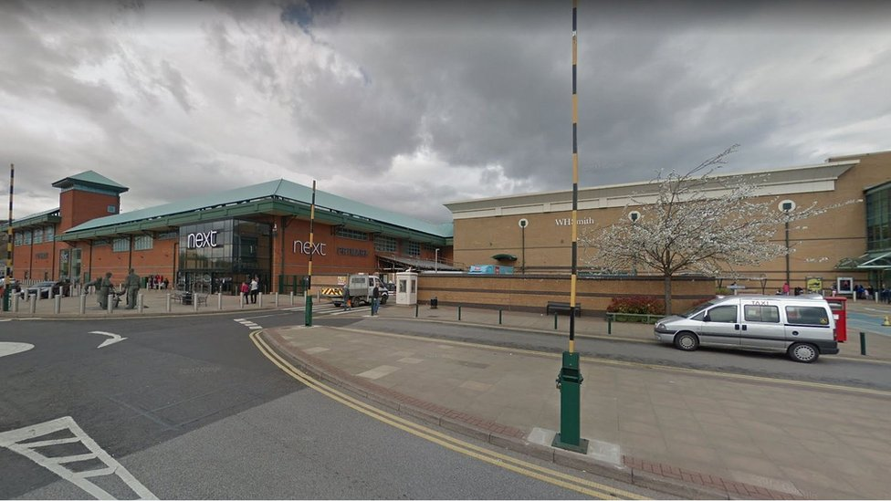 Meadowhall stabbing: Boy, 16, attacked in taxi