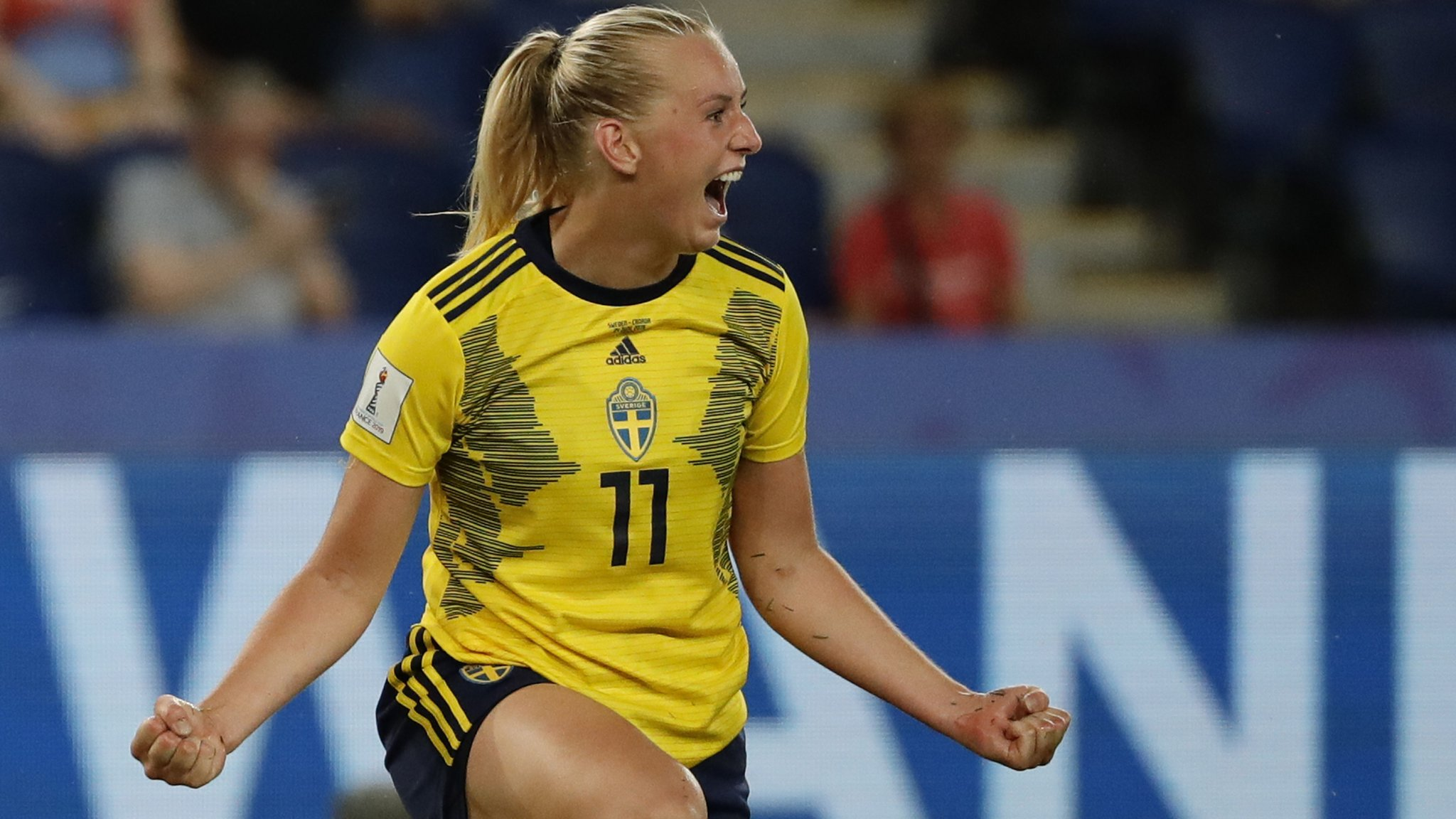 Women's World Cup 2019: Sweden beat Canada to set up Germany quarter-final