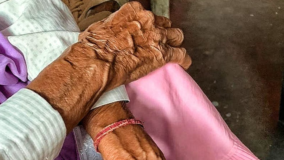 The 86-year-old woman who was raped in Delhi on Monday