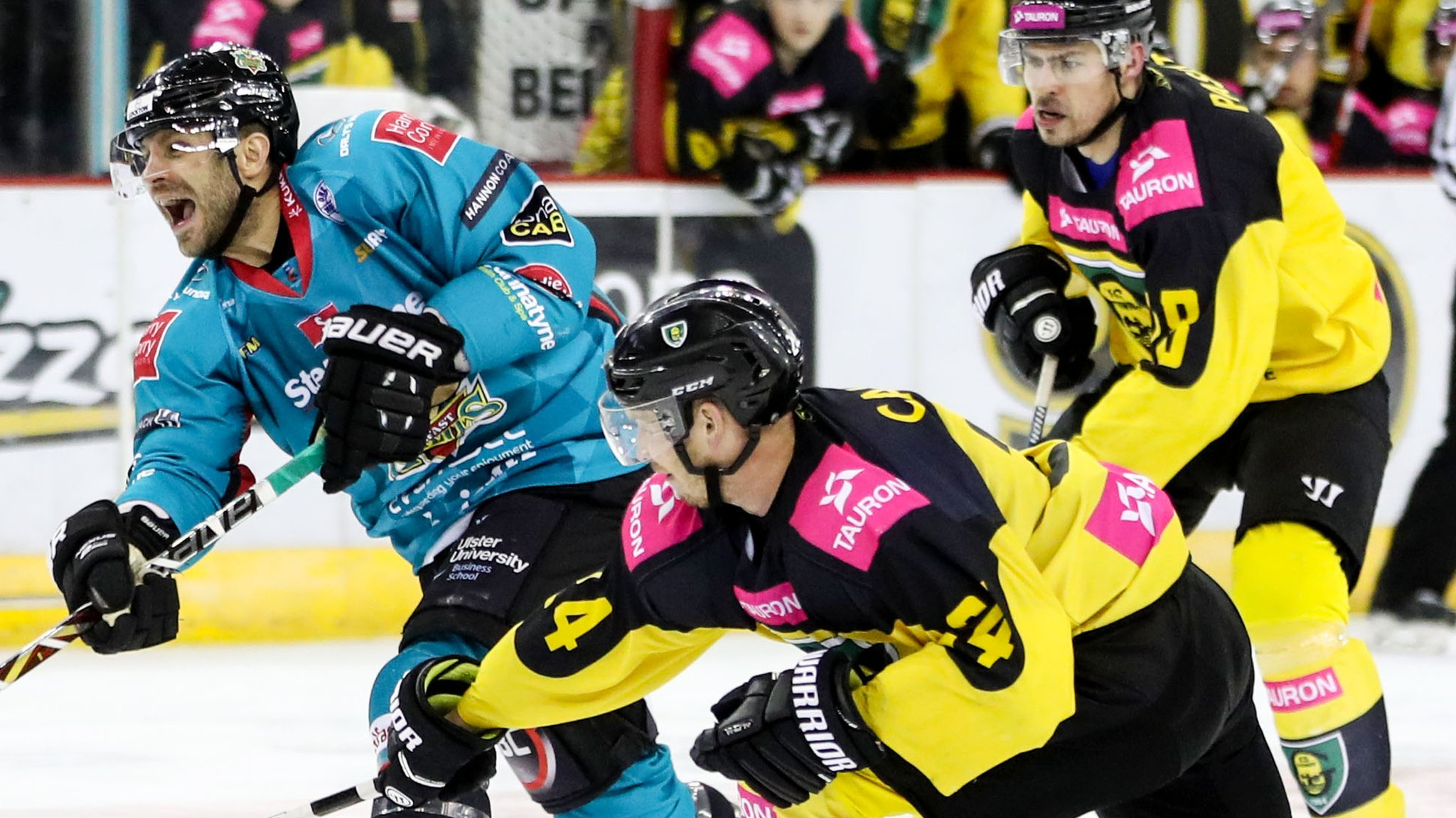 Continental Cup: Belfast Giants through to Super Final despite defeat against Katowice
