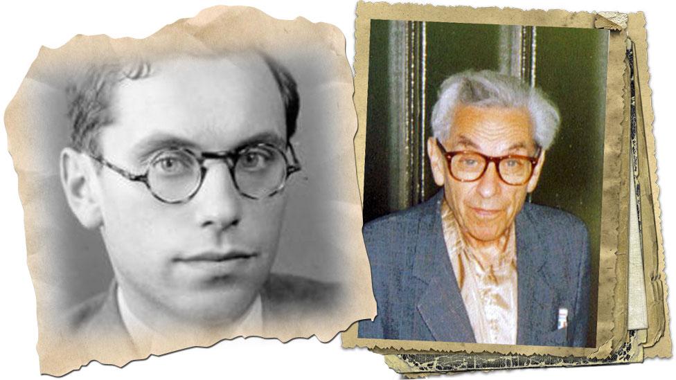 Paul Erdős joven y viejo
