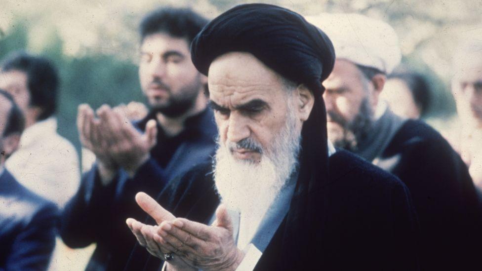 El ayatolá Rujola Jomeini