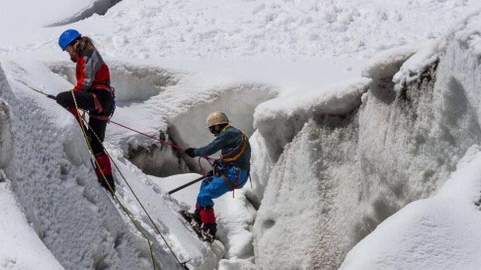 penjanje na Alpe
