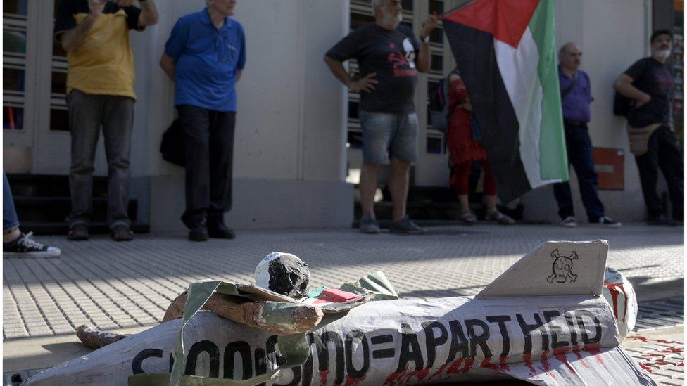 Protesta antisionista